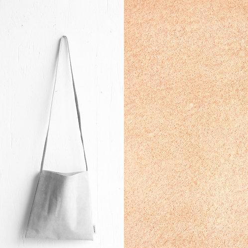 [受注] niuhans × howse / Mini Bag - Square (shoulder/Peach Beige)