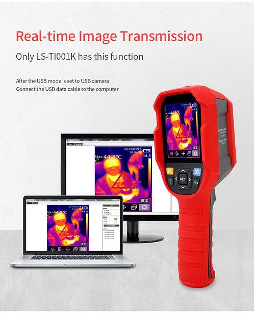 Caméra thermique infrarouge pour mesure dynamique de température