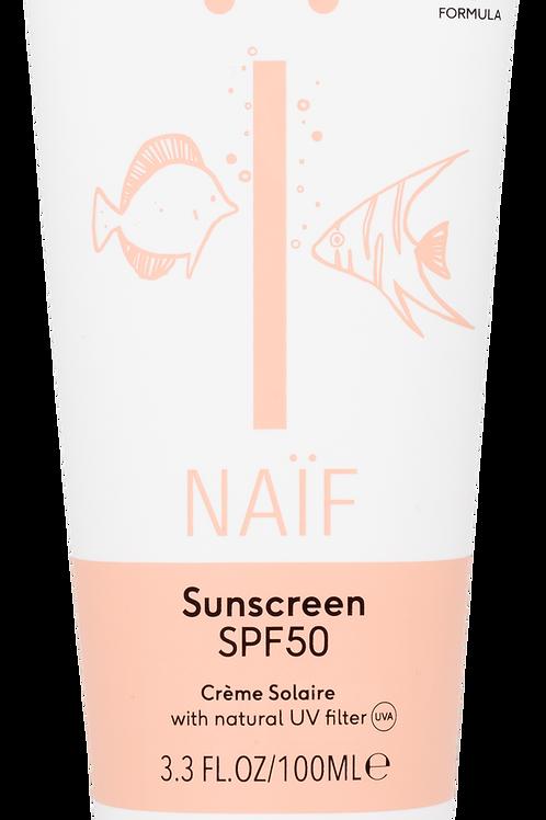 Naïf natuurlijke zonnebrandcrème factor 50