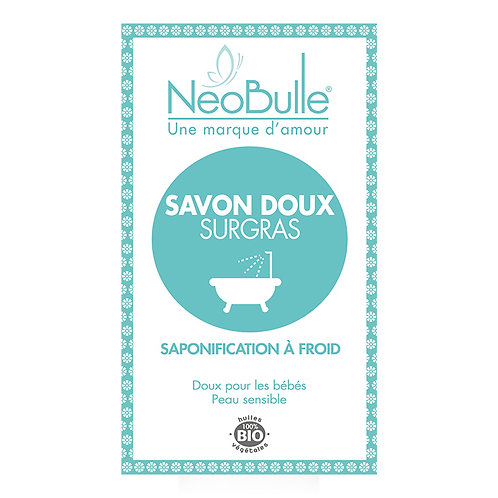 Néobulle; zeep voor de gevoelige baby huid