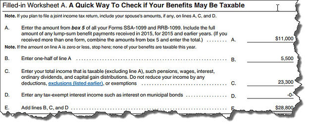 Are Your Social Security Payments Taxable?