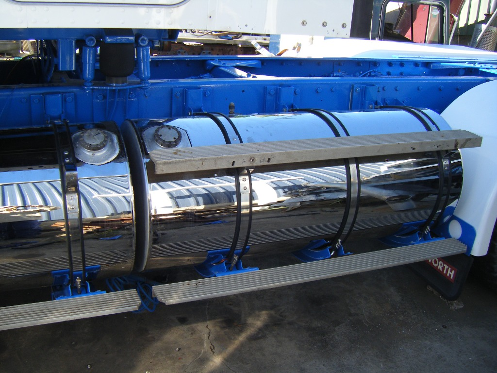 Stainless Steel Cladded Fuel Tanks