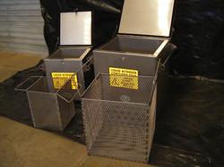 Stainless Steel Liquid Nitrogen Cont