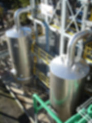 Stainless Steel Cladding Work - Ethanol Plant