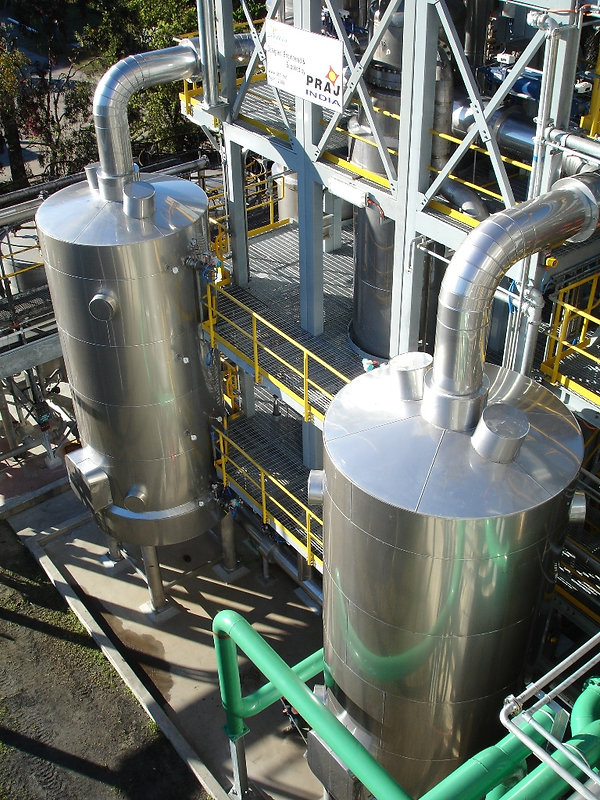 Stainless Steel Cladding Work - Ethanol Plant