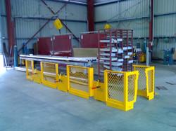 Aluminium Safety Guarding - Dragline