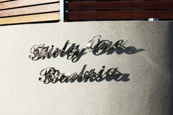 thirty one banksia lettering