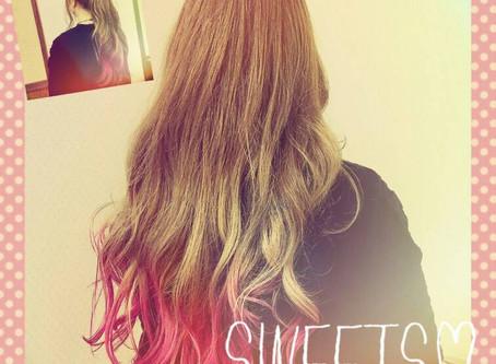 裾カラー💕無敵ピンク‼️