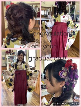 ✨卒業おめでとうございます✨