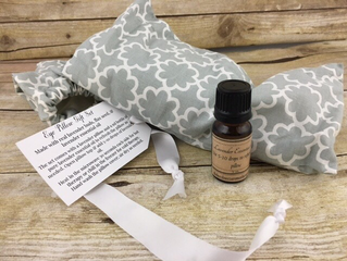 Lavender Eye Pillow Gift Sets are great heated in the microwave or chilled!