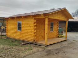 12x12 log shed