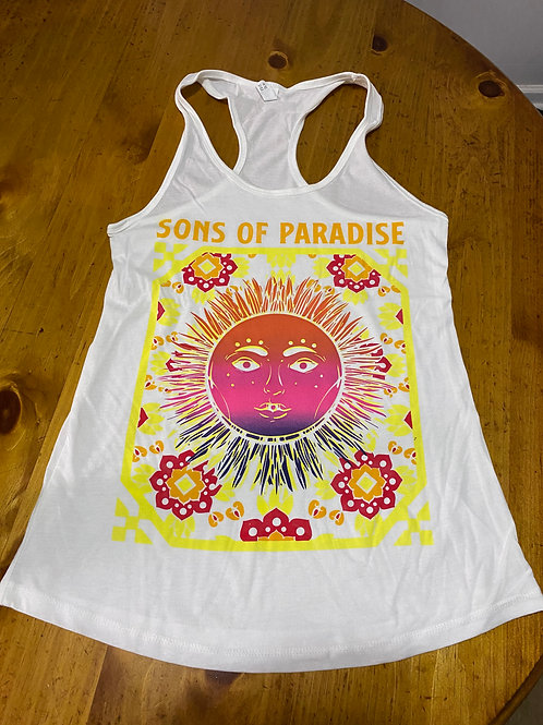 SoP Ladies White Sun Tank