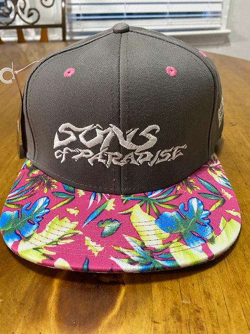 SoP Gray Floral Hat