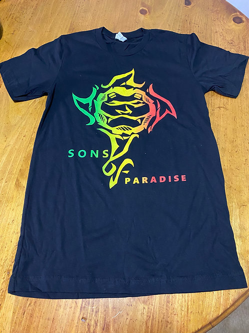 SoP Black Rasta Shirt