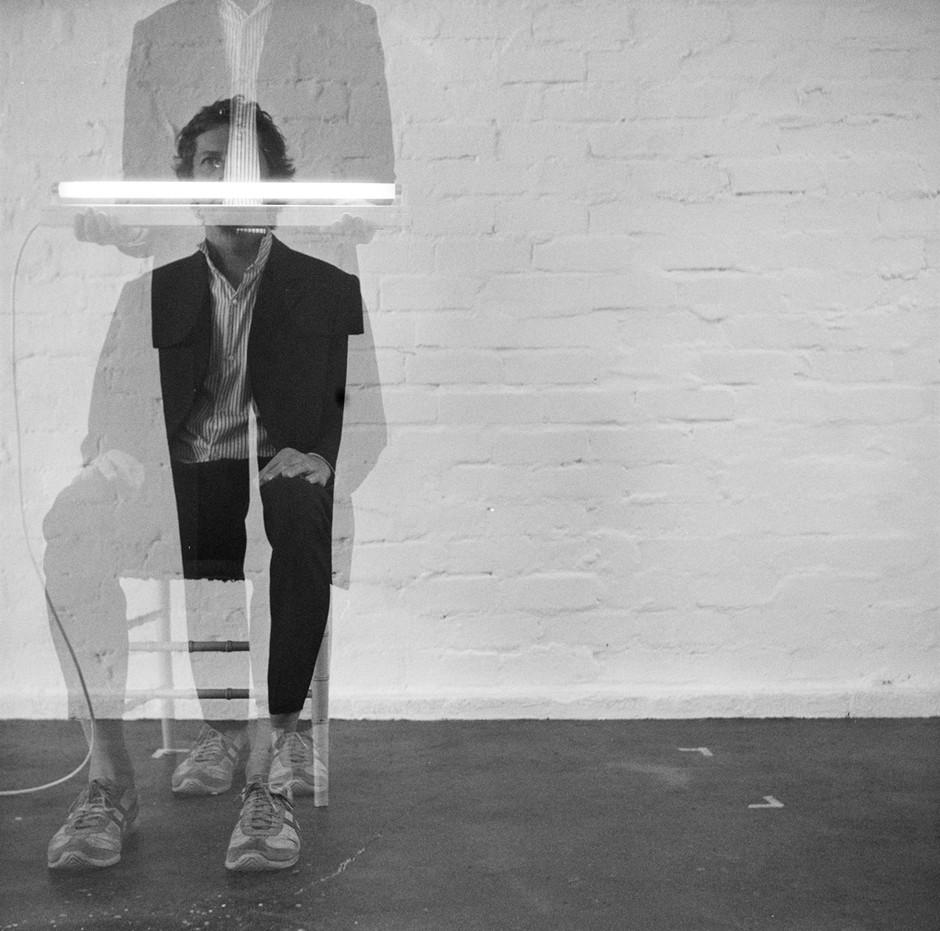 Neon Suit Chair (2018)