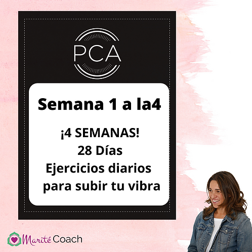Materiales PCA Semanas 2 a la 4