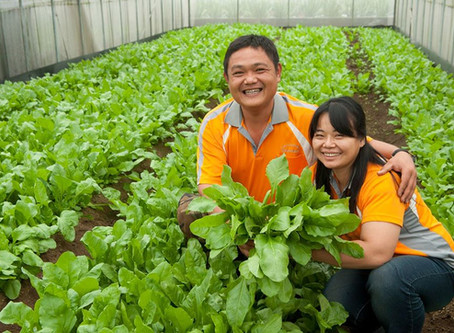 Meet the Farmer Series 6 - Mr. Wu Chengfu  from Peifang Integrated Organic Farm, Taoyuan.