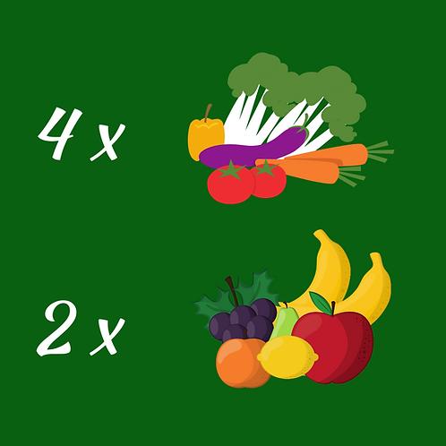 Small Veggie & Fruit Box