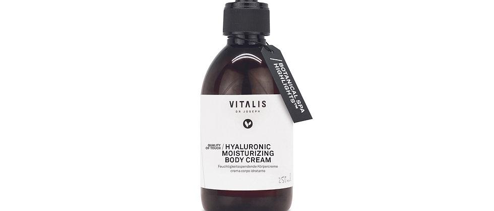 VITALIS | hyaluronic moisturizing body cream  250ml