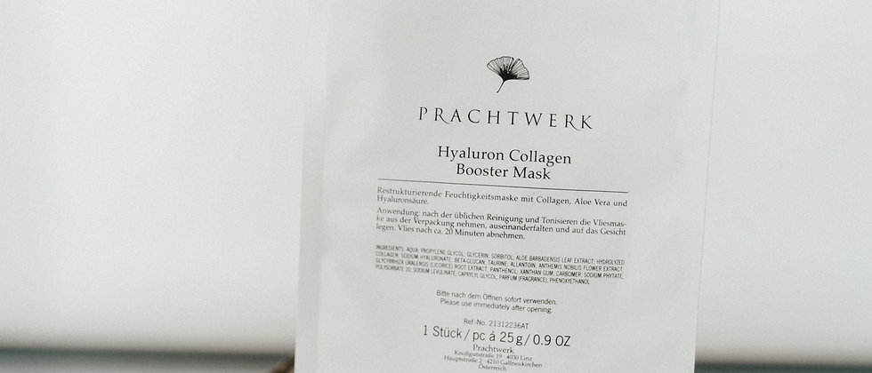 Hylaruron Collagen Booster Mask 1 Stück
