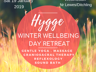 Hygge - Winter Wellbeing Day Retreat     Nr Lewes/Ditchling, Sussex -           Saturday January 19,