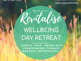 REVITALISE SPRING DAY RETREAT -                                         Westmeston (Nr. Lewes/Ditchl