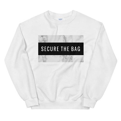 """Secure The Bag""  Unisex Sweatshirt"