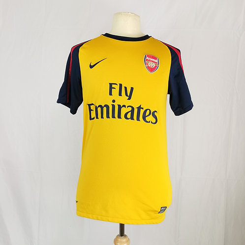 Arsenal 2008-09 Away - Size S - Fabregas 4