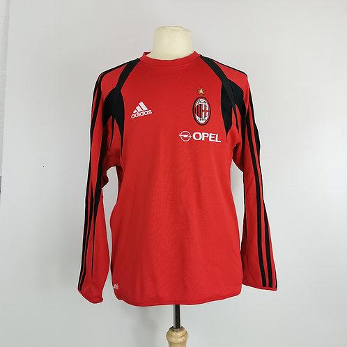 AC Milan Adidas Training Jumper - Size S