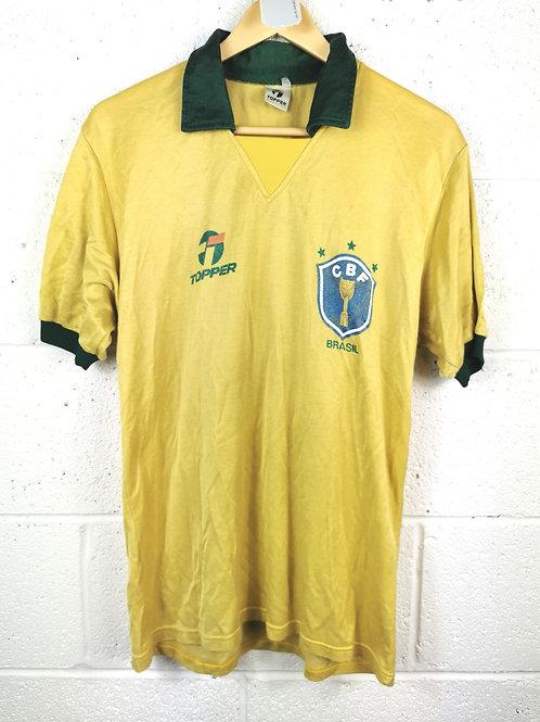 Brazil 1985-88 Home - Size S - #10