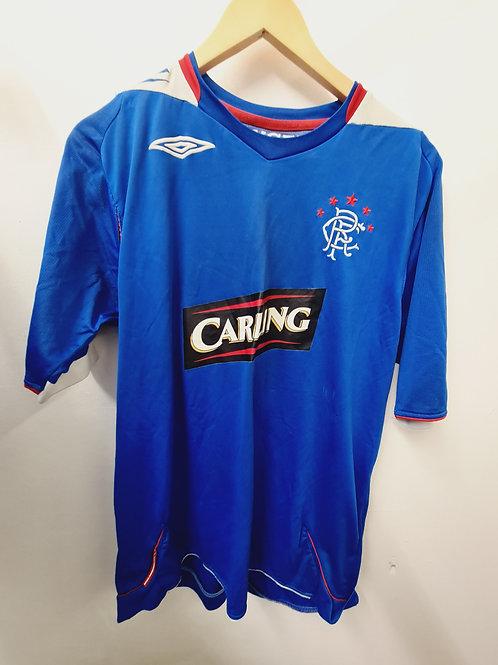 Rangers 2006-07 Home Shirt - Size L
