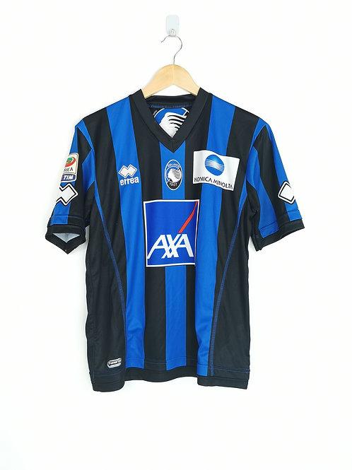 Atalanta 2013-14 Matchworn Home - Size M - Signed Denis 19