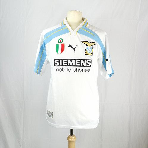Lazio 2000-01 Centenary Home - Size S - Pancaro 15