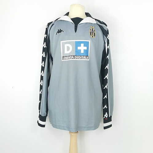 Juventus 1999-00 GK Shirt - Size XL - Isaksson 22