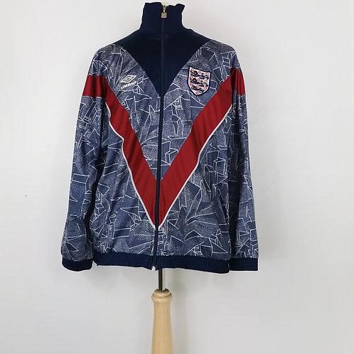 England 1994-95 Umbro Track Jacket - Size L