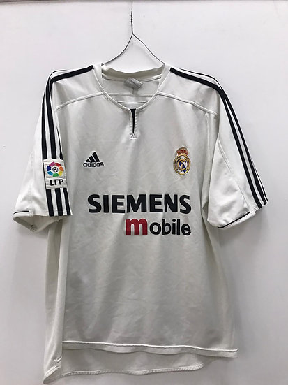 Real Madrid 2003-04 Home Shirt - Size XL