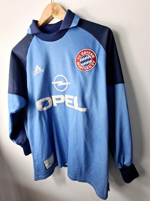 Bayern Munich 2000-01 Goalkeeper Shirt - Size S - Kahn 1