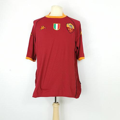 AS Roma 2002-03 Home - Size XXXL