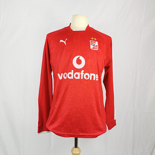 Al Ahly 2004-05 L/S Home - Size M