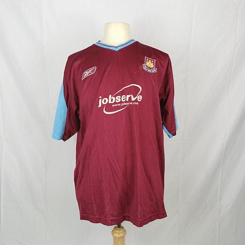 West Ham 2003-05 Home Shirt - Size XL