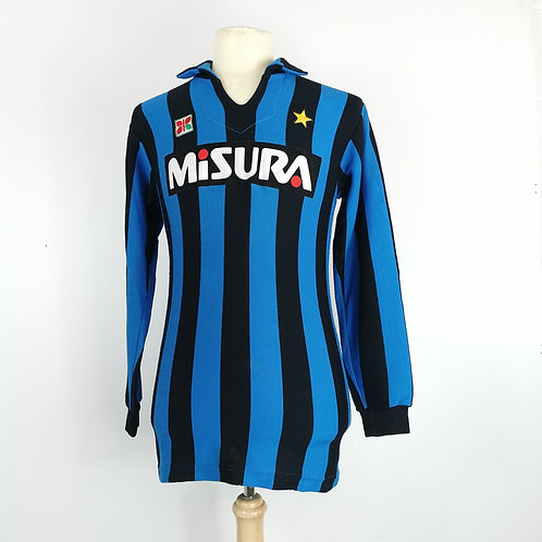 Inter Milan 1983-86 L/S Home - Size S/M - #10