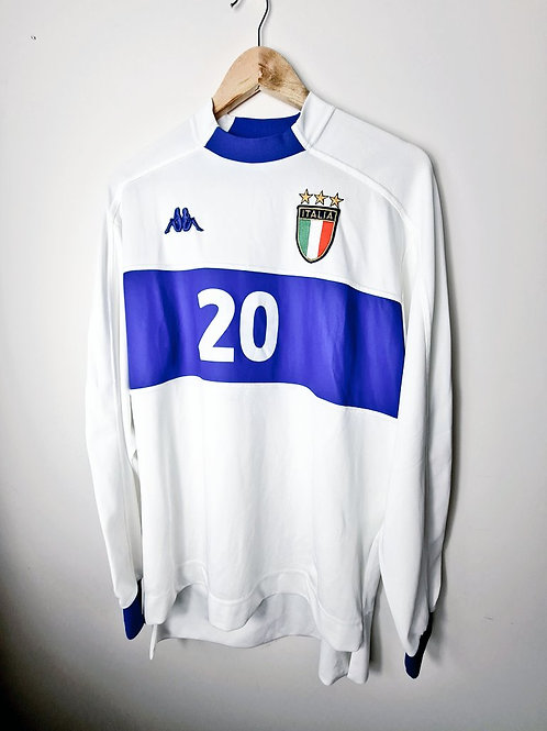 Italy 1998-00 Away Player Issue Shirt - Size XL - 20
