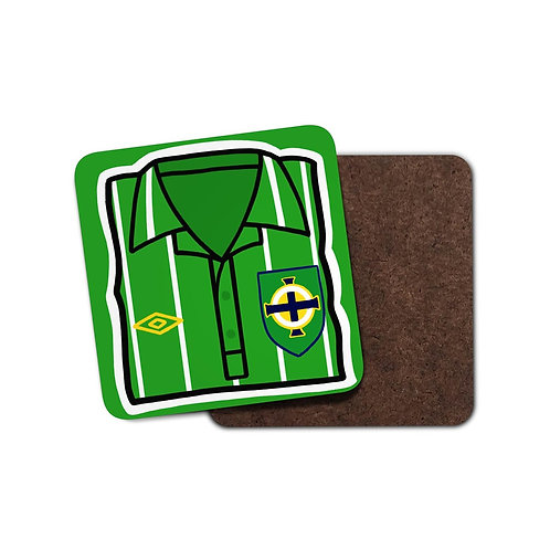 Northern Ireland 1992 Home Coaster