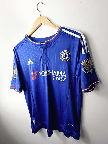 Chelsea 2015-16 Home Shirt - Size L - Mikel 12