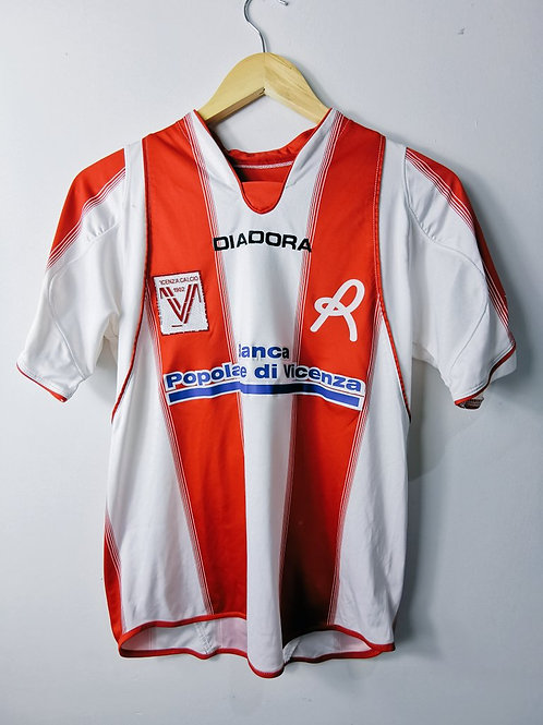 Vicenza 2007-08 Match Issue Home - Size S - #2