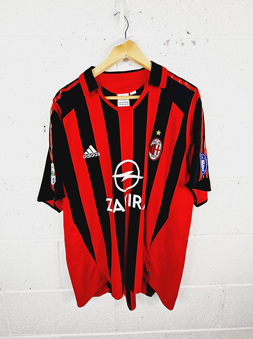 AC Milan 2005-06 Home - Size XL - Shevchenko 7