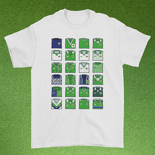 Northern Ireland Kit Collage Tee