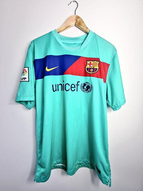 Barcelona 2010-11 Away - Size XL - Maxwell 19