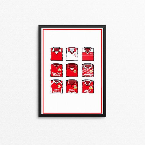 Portadown Kits Print - A4