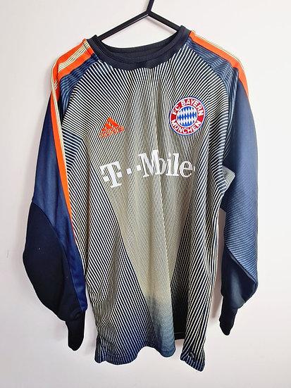 Bayern Munich 2003-04 GK Shirt - Size S - Kahn 1